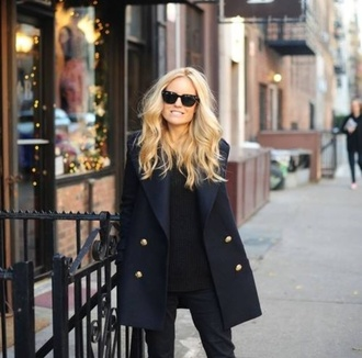 black coat mantel cotton fall outfits winter outfits dark style streetwear streetstyle