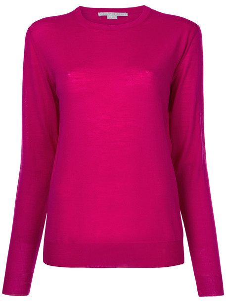 Stella McCartney jumper women wool purple pink sweater