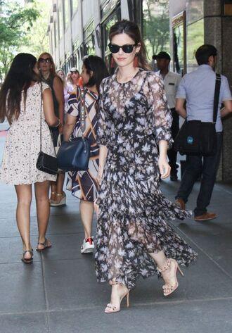 dress sandals sandal heels rachel bilson sunglasses see through see through dress