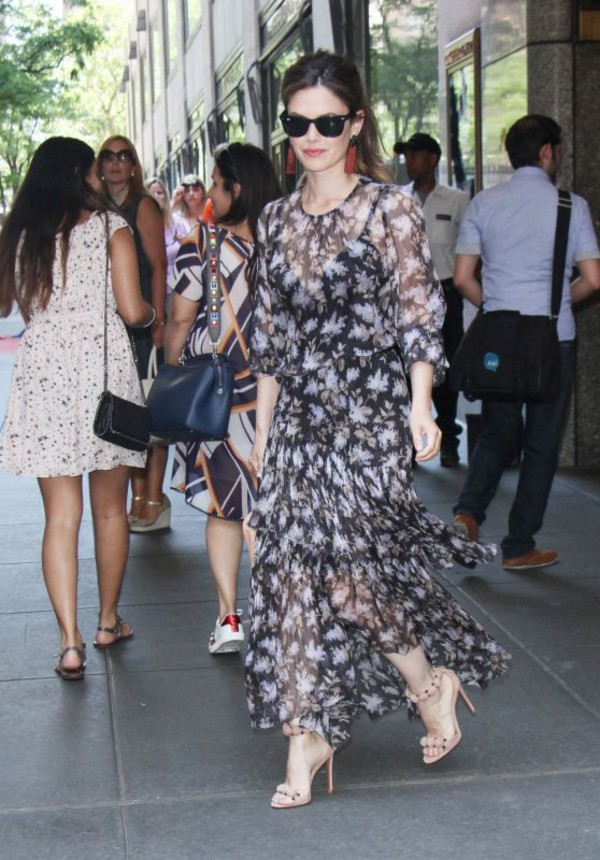 4008bca0961b dress sandals sandal heels rachel bilson sunglasses see through see through  dress