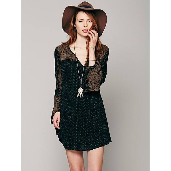Free People Dreamy Daze Print Dress