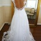 Long ball gown lace wedding dresses/wedding gowns/ formal dresses