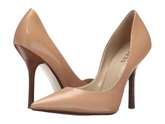 shoes nude shoes pointed toe pumps nude