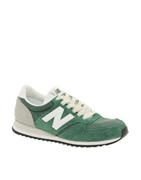 New Balance | New Balance 420 Green Vintage Sneakers at ASOS