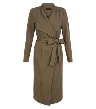 coat khaki duster coat long coat grey coat
