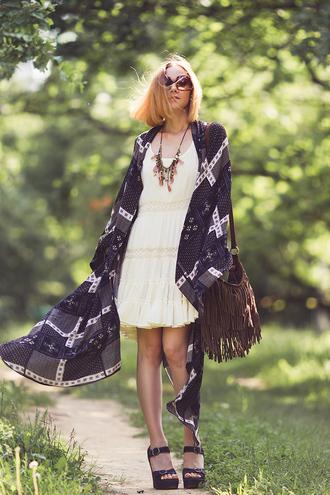 gvozdishe blogger dress bag shoes sunglasses