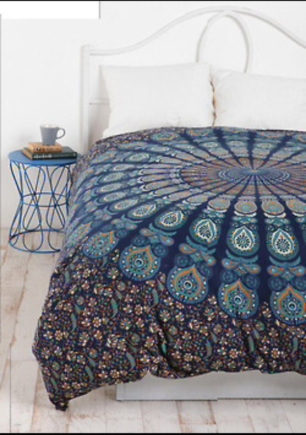 bedding bed spread indian boho boho boho chic tapestry lifestyle mandala beach house