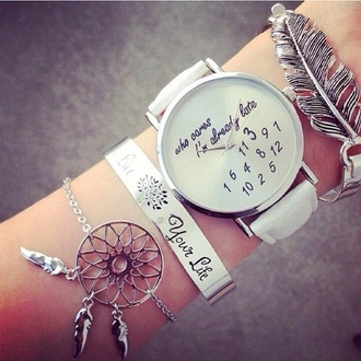 jewels cute watch jewelry boho boho jewelry boho chic bohemian dreamcatcher dreamcatcher bracelet bracelets stacked bracelets