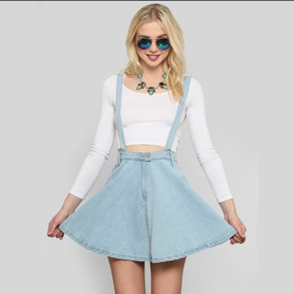 dress skirt skater dress skater skirt overalls overall skirt light jeans jean skirt jean skater skirt jean overall skirt blue help cute
