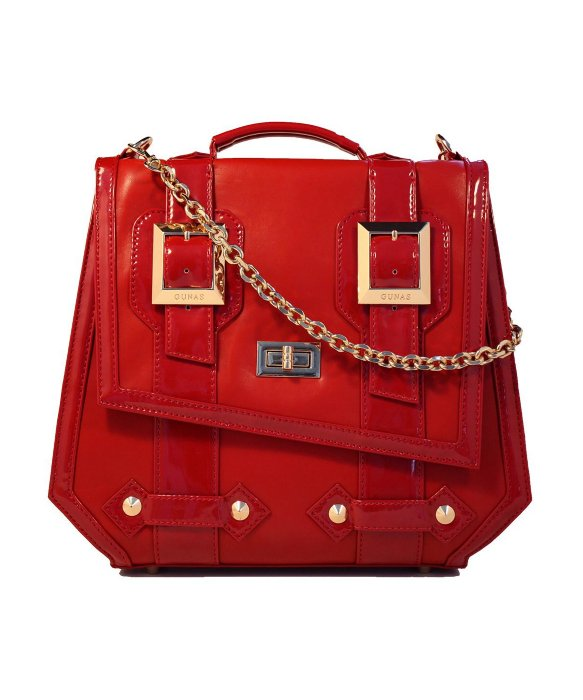Gunas Rockstar Red Patent | BLUEFLY up to 70% off designer brands
