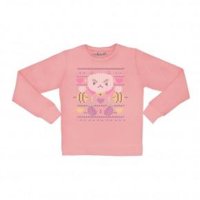 PuppyCat Faux Pullover Sweatshirt