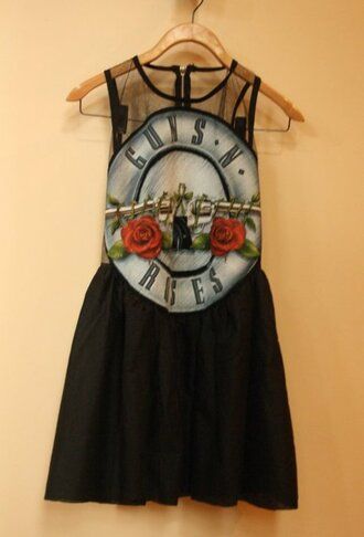 guns and roses dress black new black dress shoes brown pink band dress guns n roses dress