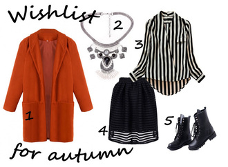 lisa f.k. music of the wind blogger dress red coat striped shirt black combat boots black skirt