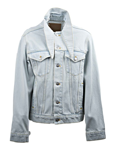 Balenciaga jacket denim jacket denim blue