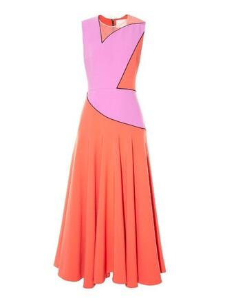 dress midi dress midi coral