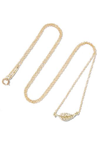 mini necklace diamond necklace gold jewels