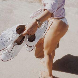shoes rolex uniqlo beach sneakers summer bikini converse