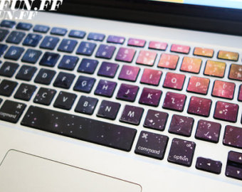 keyboard stickers on Etsy, a global handmade and vintage marketplace