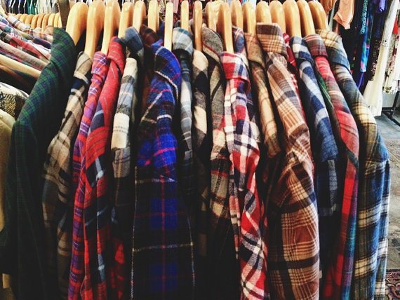 90's Flannels