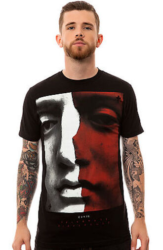 shirt civil mercy black t-shirt face greek tee