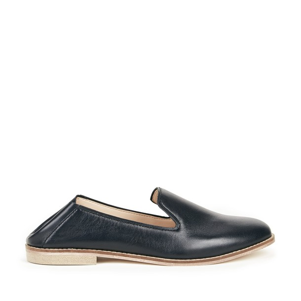 Sole Society Jameson Deconstructed Loafer - Black-5