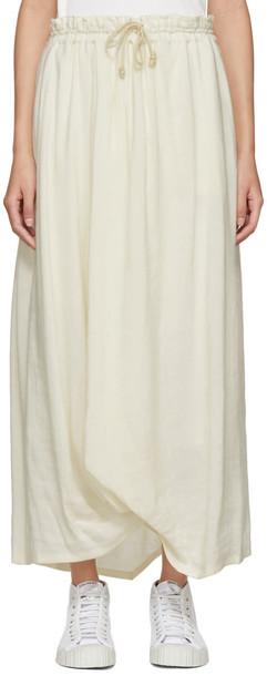 Ys skirt white off-white