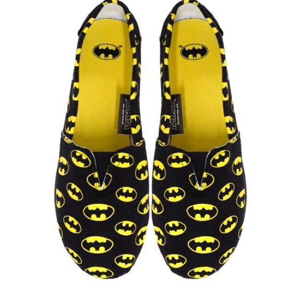 batman comic con superhero shoes slip on shoes slippers