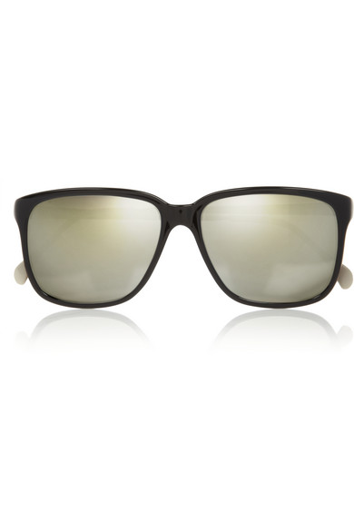 Sheriff&Cherry | D-frame acetate and metal mirrored sunglasses  | NET-A-PORTER.COM