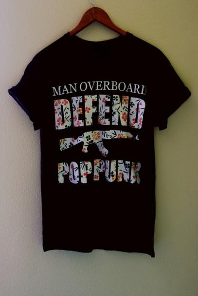 Shirt: pop punk, rock, punk, clothes, high heels, tumblr ...