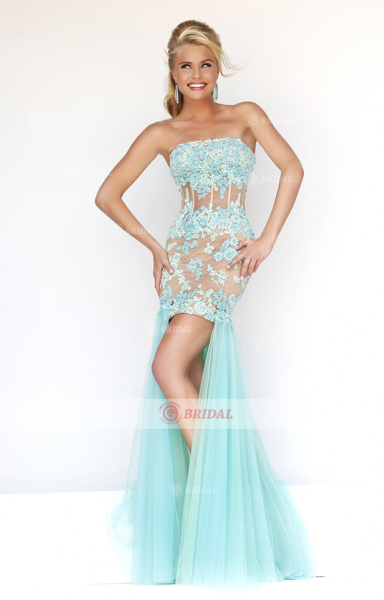Sheath/Column Bateau Zipper High-Low Chiffon Sleeveless Evening Dresses