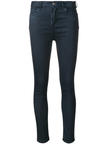 Twin-Set jeans skinny jeans women spandex cotton blue