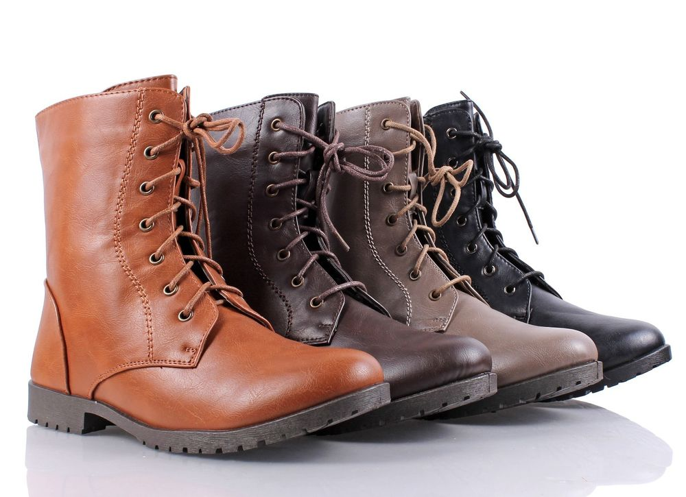 Simple Rag U0026 Bone Leather Combat Boots - Shoes - WRAGB62983 | The RealReal