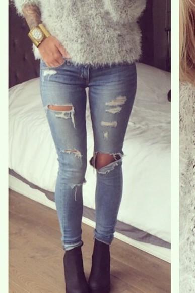 stone jeans denim color