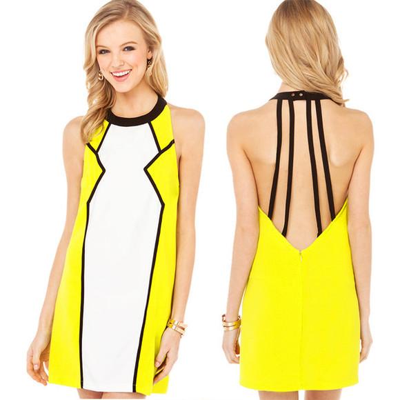 dress backless sexy dress mini dress