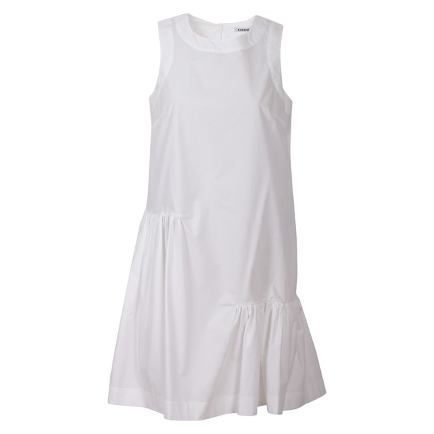 Parosh dress cotton white