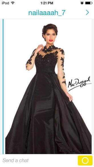 dress black dress prom dress long dress long prom dress beautiful ball gowns black gown ball gown
