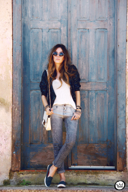 fashion coolture jacket bag sunglasses shoes
