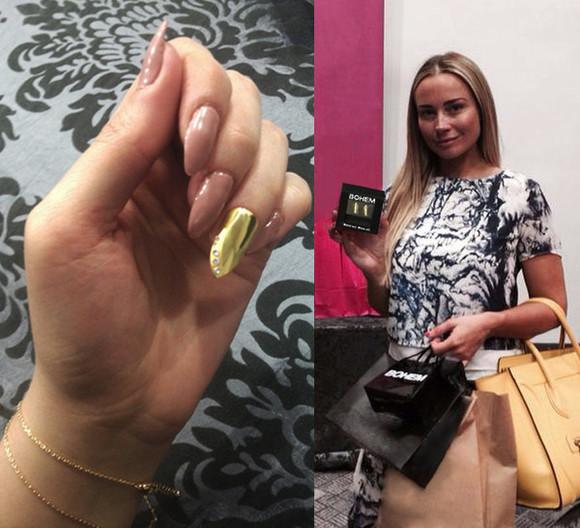 jewels nail art nail nail polish amanda harrington amanda harrington gold nail gold nails silver nail silver nails diamonds diamond nails nail jewellery nail jewels nail jewlry uk fashion scousewives