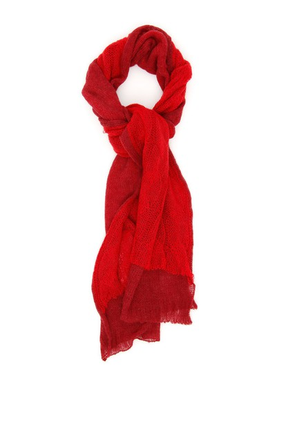 MAISON MARGIELA scarf red
