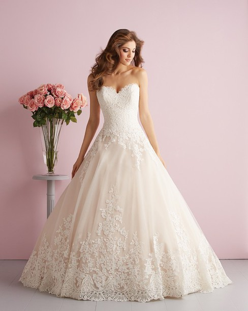 Dress, Charming A-line Sweetheart, Landybridal Wedding