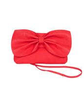 red bag,bow,bag