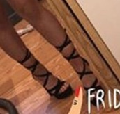 shoes,black lace up,high heels