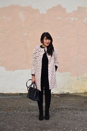 daily disguise,blogger,jacket,sweater,pants,shoes,fall outfits,handbag,boots,coat