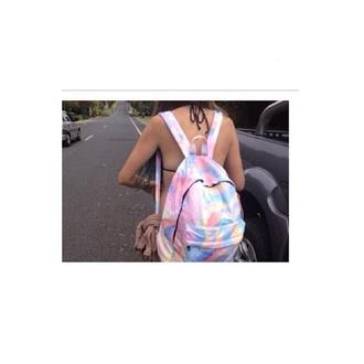 bag bookbag gasspill gas trippy backpack