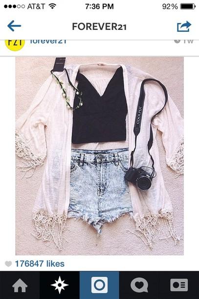 jacket scarf shirt jewels