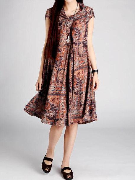 dress coffee color dress