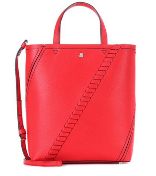 Proenza Schouler mini bag bucket bag leather red