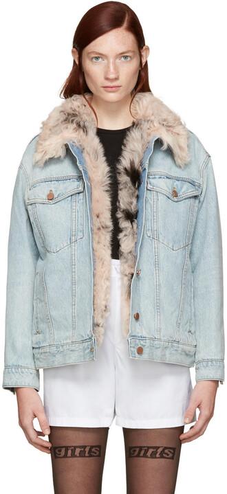 jacket denim blue
