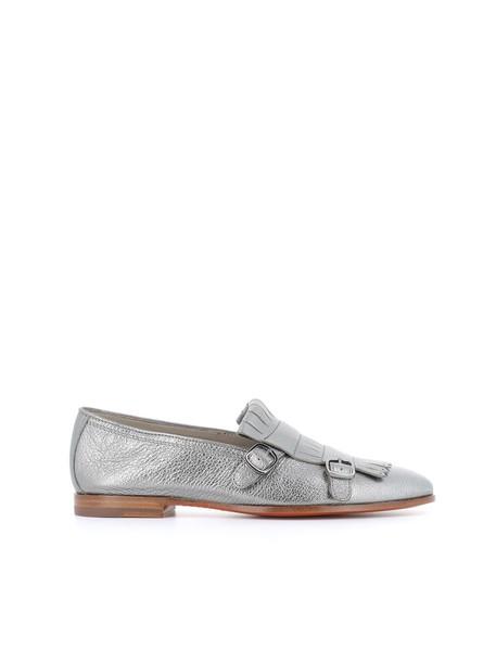 Santoni shoes silver