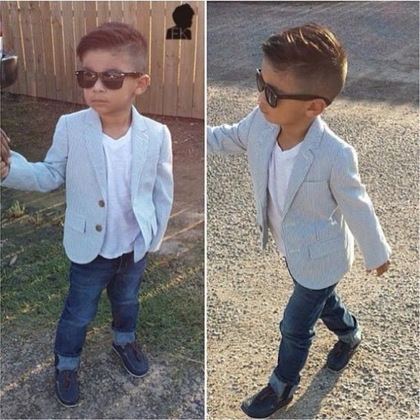 Jacket Guys Kids Fashion Toddler Blazer Swag Sunglasses Kids